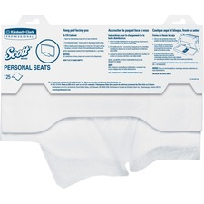 KCC 07410PK Kimberly-Clark Scott Personal Seats Seat Covers KCC07410PK