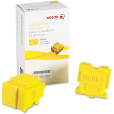 Xerox Solid Ink Stick - Solid Ink - 4400 Pages - Yellow - 2 / Box