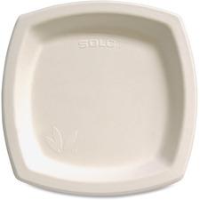 SCC 8PSC2050 Solo Cup Bare Sugar Cane Plates SCC8PSC2050