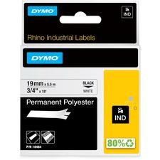 DYM 18484 Dymo Permanent Polyester Labels DYM18484