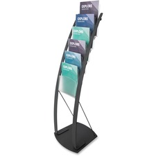 DEF 693104 Deflecto Contemporary Literature Floor Stand  DEF693104