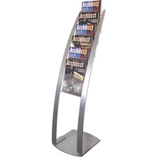 DEF 693145 Deflecto Contemporary Literature Floor Stand  DEF693145