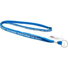 BAU98000 - SICURIX Best Teachers Inspirational Lanyard