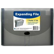 CLI 48301 C-Line 7-Pocket Expanding Files CLI48301