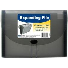 CLI 48311 C-Line 13-pocket Letter-size Expanding File CLI48311