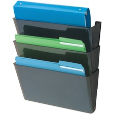 DEF 93604 Deflecto Recycled DocuPocket Wall Files DEF93604