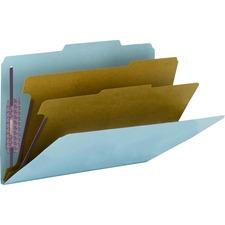 SMD19204 - Smead SafeSHIELD 2/5 Tab Cut Legal Recycled Classification Folder