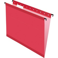 PFX 615215RED Pendaflex SureHook Reinforced Top Hanging Folders PFX615215RED
