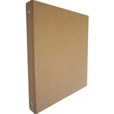 AUA 10251 Aurora Prod. Recycled 3-Ring Chipboard Binders AUA10251