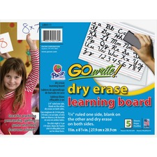 PAC LB8511 Pacon GoWrite Two-sided Dry-erase Learning Board PACLB8511
