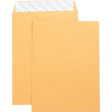 Business Source Self Adhesive Kraft Catalog Envelopes