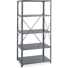 SAF 6266 Safco Steel Commercial 5-Shelf Kit SAF6266