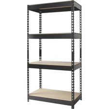 HID 17125 Hirsh Ind. 4-Shelf Horse Riveted Steel Unit HID17125