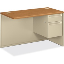 HON 38215RCL HON 38000 Harvest Putty Laminate/Steel Desking HON38215RCL