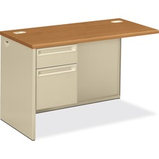 HON 38216LCL HON 38000 Harvest Putty Laminate/Steel Desking HON38216LCL