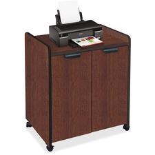MLN 2110MUMAHBLK Mayline Laminate Utility Cabinets MLN2110MUMAHBLK