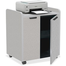 MLN 2110MUNGRBLK Mayline Laminate Utility Cabinets MLN2110MUNGRBLK