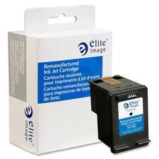 Elite Image Remanufactured Ink Cartridge - Alternative for HP 60 (CB640WN) - Inkjet - 200 Pages - Black - 1 Each