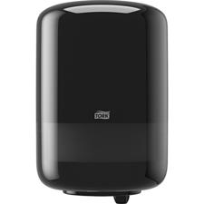"Tork 559028A Elevation Hand Towel Centerfeed Pro Dispenser - Roll Dispenser - 14.40"" (365.76 mm) Height x 9.40"" (238.76 mm) Width x 9"" (228.60 mm) Depth - Plastic - Black"