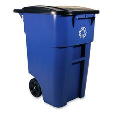Rubbermaid Slim Jim 3540 75 Recycling Container 354075BLUE
