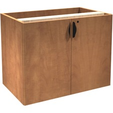"""Heartwood Innovations Storage Cabinet - 35.5"""" x 21.8"""" x 36.5"""" x 1"""" - Drawer(s)2 Door(s) - Material: Particleboard - Finish: Laminate, Sugar Maple"""