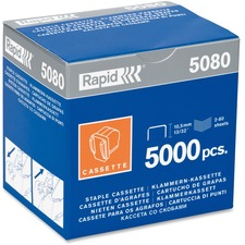 Rapid 5080e Staple Cartridge - Holds 90 Sheet(s) - Silver