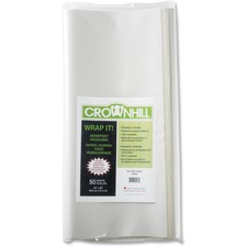"""Crownhill 82436 Copy & Multipurpose Paper - White - Recycled - 100% - 24"""" x 36"""" - 50 / Pack"""