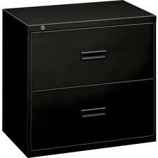 "BSX 482LP Basyx 400 Series 36"" Black Drawer Lateral File  BSX482LP"