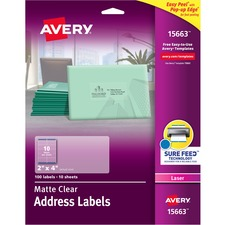 AVE15663 - Avery Easy Peel Mailing Label