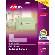 AVE15661 - Avery Easy Peel Mailing Label