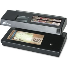 Royal Sovereign RCD-2000 Portable 4-Way Counterfeit Detector - Ultraviolet, Magnetic Ink, Watermark, Micro Printing - Black