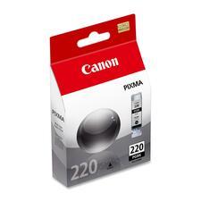 Canon PGI220BK Ink Cartridge - Inkjet - 350 Pages - 1 Each