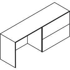 LAS71KS2072LFC - Lacasse Concept 70 Right Lateral File Credenza