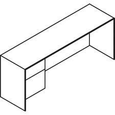 LAS71DLF2072SB - Lacasse Concept 70 Left Lateral File Credenza