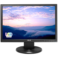 "ASUS VW199T-P 19"" Widescreen LED LCD Monitor"