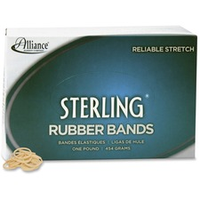 ALL 24085 Alliance Natural Crepe Sterling Rubber Bands ALL24085