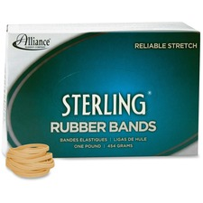 ALL24305 - Alliance Rubber 24305 Sterling Rubber Bands - Size #30