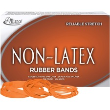 ALL37546 - Alliance Rubber 37546 Non-Latex Rubber Bands - Assorted sizes (#54)