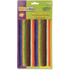 CKC 4170 Chenille Kraft Bright Hues Wax Works Sticks CKC4170