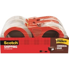 MMM 37504RD 3M Scotch Commercial Grade Shipping Tape MMM37504RD