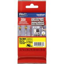 """BRT TZES641 Brother Extra Strength Adhesive 3/4"""" Lamntd Tapes BRTTZES641"""