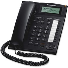 PAN KXTS880B Panasonic Dialer Station Corded Phone System PANKXTS880B