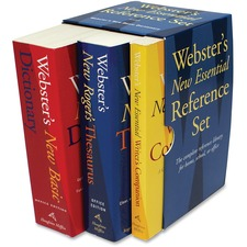 HOU 1020842 Houghton Mifflin Webster's New Essential Ref. Set HOU1020842