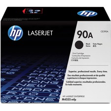 HP 90A (CE390A) Original Toner Cartridge - Single Pack - Laser - 10000 Pages - Black - 1 Each