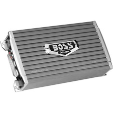 BOSS AUDIO AR1600.4 Armor 1600-Watt Full Range, Class A/B 2 to 8 Ohm Stable 4 Channel Amplifier with Remote Subwoofer Level Control