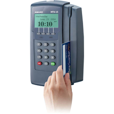 AMAMTX15A302 - Amano Time Guardian MTX-15/A302 Employee Time Tracking System