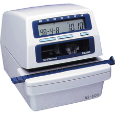 AMANS51002287 - Amano NS-5100 Programmable Electronic Time/Date Stamp & Numbering Machine