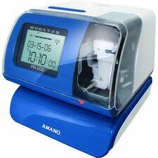 AMAPIX2000400 - Amano PIX-200 Electronic Time Recorder & Date Stamp