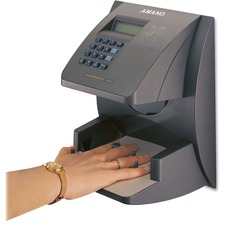 AMAHP3000A168 - Amano HandPunch 1000 Biometric Time & Attendance Terminal with TimeGuardian