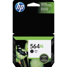 HP 564XL Original Ink Cartridge - Single Pack - Inkjet - 550 Pages - Black - 1 Each